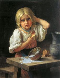Х. Платонов - Крестьянская девочка