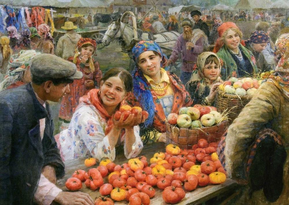 Мичурин - томаты