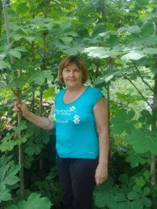 Мои девятилетние питомцы в саду